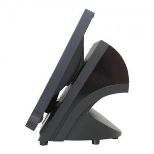 Side View of Bleep TS-815 Android EPOS Terminal in Black