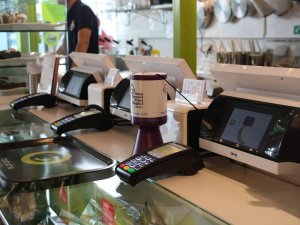 Bleep EPOS and Payment Solution on a Fast Service counter
