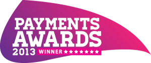 Payments Awards 2013 Winner Logo
