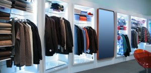Retail Clothes Store Header