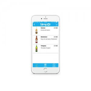 Bleep OrderPAY Mobile Application